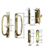 Patio Door Handle Kit with Mortise Lock and Keepers, B-Position, Brass,N... - $102.45