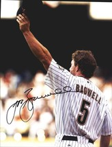 Jeff Bagwell authentic signed baseball 11X14 photo W/Cert Autographed A0045 - $109.95