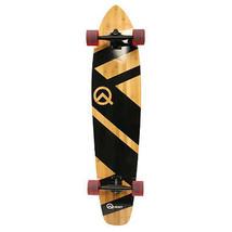 Quest Super Cruiser Artisan Bamboo Longboard Skateboard Durable Sport Sk... - $96.70