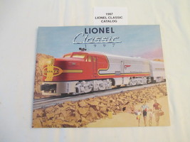 Lionel 1997 Classic Trains Catalog NM Condition Santa Fe - $6.50