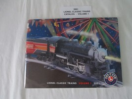 Lionel 2001 Catalog Classic Trains Volume 1 NM Condition - $10.00