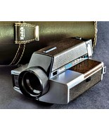 Kodak XL33 8mm Movie Camera w 9mm f/1.2 Lens w Original Case Collectible - $11.00