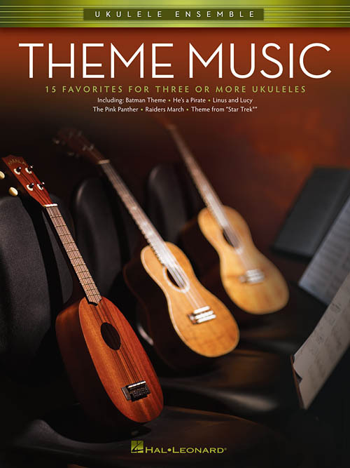 Primary image for Theme Music For 3 Or More Ukuleles Songbook/Movies/Television