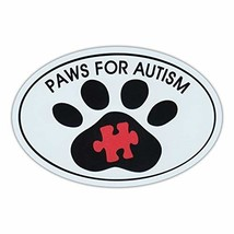 """Refrigerator Magnet - Paws For Autism - Dog Walk/Run Support Event - 6"""" ... - $6.99"""