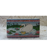 Vintage AVON Tender Love Figural Swan Soap Set // Unused In Original Box - $6.25