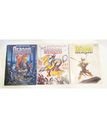 DRAGON MAGAZINE #193, 195 & 197 THREE 1993 ISSU... - $19.98