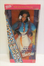 NATIVE AMERICAN INDIAN BARBIE DOLL 1993 SECOND ... - $14.99
