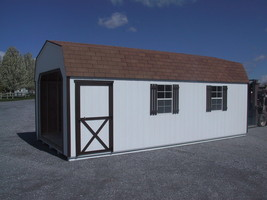 AMISH PA DUTCH CUSTOM QUALITY HANDMADE 12X24 UTILITY T1-11 GARAGE STORAG... - $5,247.00