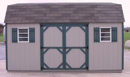 AMISH PA DUTCH QUALITY HANDMADE 12X16 UTILITY DUTCH BARN STORAGE SHED SP... - $3,312.50