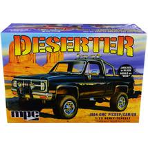 Skill 2 Model Kit 1984 GMC Pickup Truck (Molded in Black) Deserter 1/25 ... - $48.29