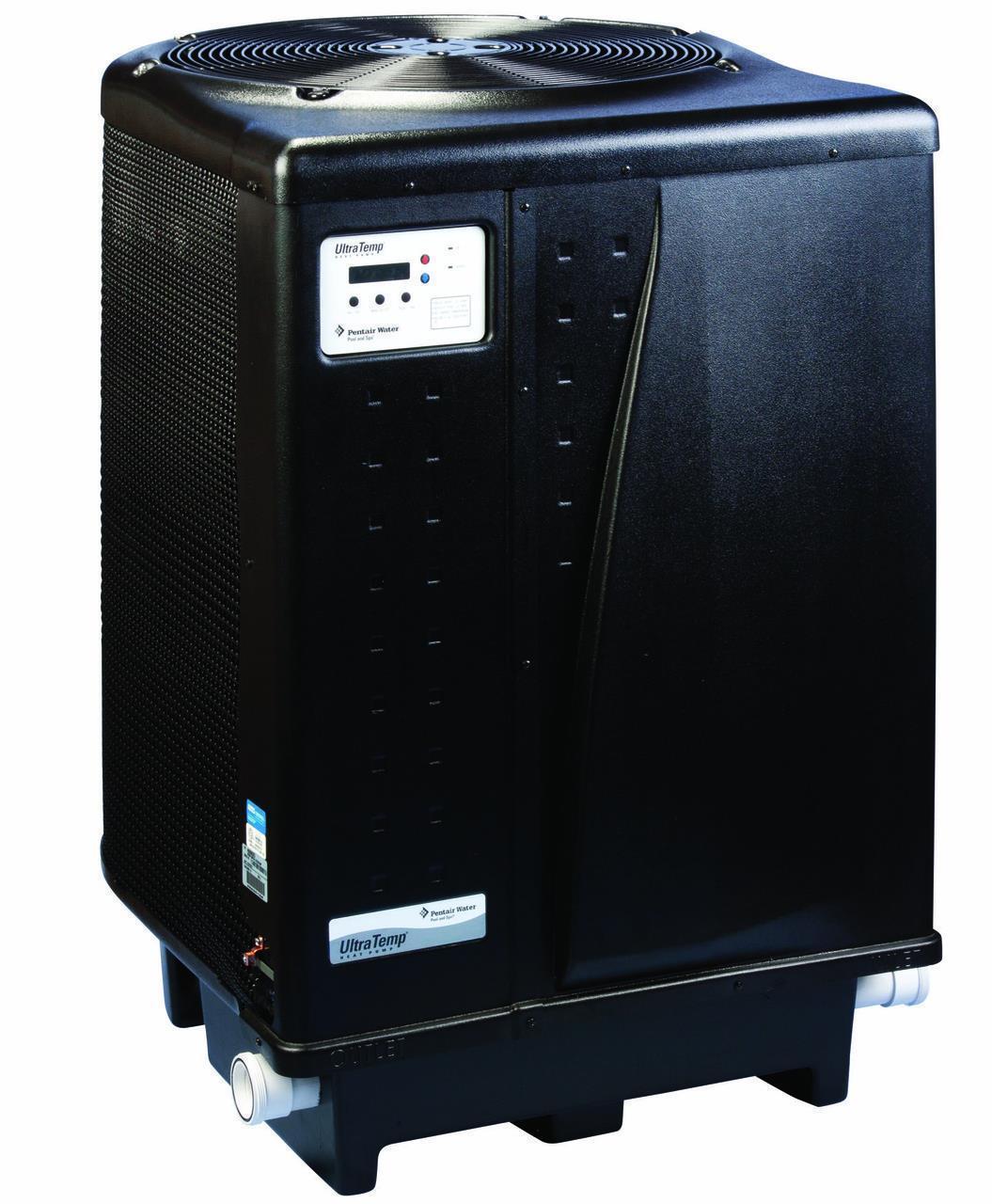 Pentair ultratemp 120 high performance heat pump 125k btu for Pool heater