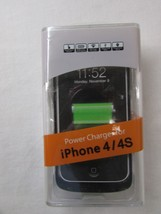 Backup Battery Case for iPhone 4 & 4S - Black - Includes Macro Data Line - $9.50