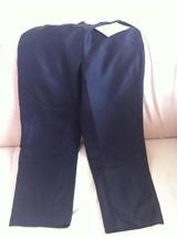 NWT QVC Russell Kemp Signature 100%Silk Black PANTS,Trouser,Slacks Size ... - $14.99