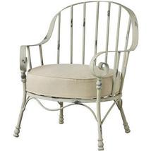 Chic Shabby Outdoor Metal Garden Chair,31'' x 25.5'' x 34.5''H. Set of 2! - $1,163.25