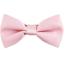 New KID'S BOY'S 100% Polyester Pre-tied Bow tie only formal wedding  Pink - $5.75