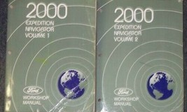 2000 Ford EXPEDITION Lincoln NAVIGATOR Shop Repair Service Manual SET 2 ... - $86.38
