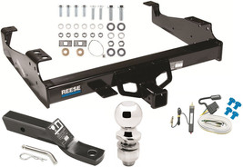1999-2000 FORD F-350 SUPER DUTY COMPLETE TRAILER HITCH PACKAGE W/ WIRING... - $285.07