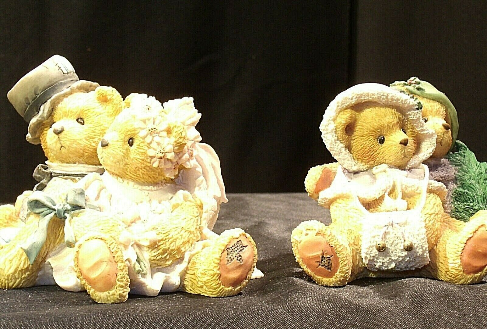 ENSCO Cherished Teddies Figurines with box ( pair)  AA19-2064 Vintage