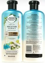 2 Bottles Herbal Essences 13.5 Oz Birch Bark Extract Gentle Moisture Con... - $21.99