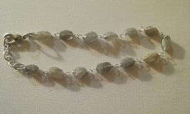 Genuine Natural Labradorite Gemstone Bracelet SALE SPECIAL LOW PRICE - $7.99