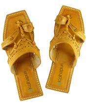 eKolhapuri Classic kolhapuri design , leather women sandal  - $60.00
