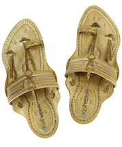 Ekolhapuri Awesome Looking Kapshi Kolhapuri Chappal for men - $79.00