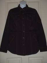 Cabi Womens Halftime Safari Brown Snap Front Jacket Size MEDIUM M  Style... - $37.01