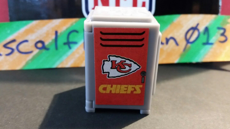 NFL TEENYMATES KANAS CITY CHIEFS LOCKER RARE LIMITED!!! NONE ON EBAY!!! 2015