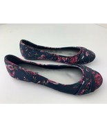 American Eagle Floral Flats Women's Shoes Size 7.5 - $14.84
