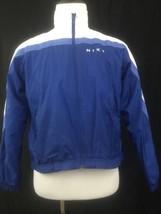 Vintage 90s NIKE Lined Lightweight Jacket Coat Boys Medium M 8-10 Swoosh - $18.46