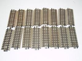 Marklin Track 18 Pieces 3600 A 1/2 - Grey Tabs on bottom - $29.39