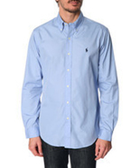 POLO RALPH LAUREN MEN'S BUTTON DOWN OXFORD SHIRTS [BRAND NEW WITH TAGS] - $44.99