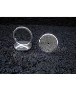 925 Sterling Silver Adjustable Ring Labyrinth Greek mythology - $34.65