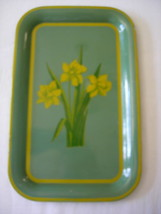 Daffodil Tole Tray ~ Shabby Chic ~ Decal - $10.99