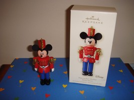 Hallmark 2008 Nutcracker Mickey Mouse Ornament - $18.99