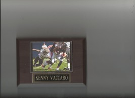 KENNY VACCARO PLAQUE NEW ORLEANS SAINTS FOOTBALL NFL GAME ACTION - $0.98