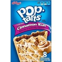 Kellogg's Pop Tarts Frosted Cinnamon Rolls Toaster Pastries 14 oz Box - $10.29