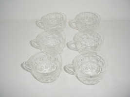 Lot of 6 Glass Punch Cups Serving - $6.88
