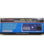 1/4 drive socket set New 22 pc 1/4inch Drive Socket Set Durable Case Fre... - $29.95