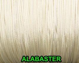 20 FEET: 0.9 MM, ALBASTER Professional Grade Nylon Lift Cord For Window ... - $8.90