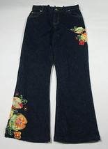 THE CHILDRENS PLACE GIRLS 10 STRETCH JEANS NEW TCP FUNKY FLORAL SEQUINS ... - $16.82