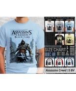 T shirt Assassins Creed Black Flag Many Color & Design Option - $10.99+