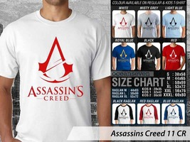 T shirt Assassins Creed Logo Many Color & Design Option - $10.99+