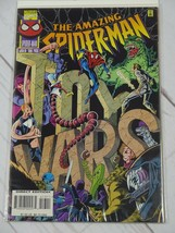 The Amazing Spider-Man #413 (Jul 1996 Marvel) Toy Wars Bagged and Boarde... - $3.99