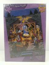 Holy Night Master Pieces 1000 Pcs Jigsaw Puzzle Birth of Jesus Nativity ... - $28.70