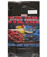 Marvel Collector Corps Exclusive Captain America Civil War Lg Short Slee... - $14.95