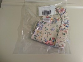 Longaberger 2003 Easter Basket Small Spring Floral SU Fabric Liner New In Bag - $13.81