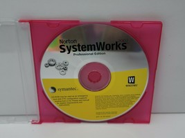 Symantec NORTON SYSTEMWORKS 2002 CD Windows PC Antivirus - Disc Only Sof... - $7.95