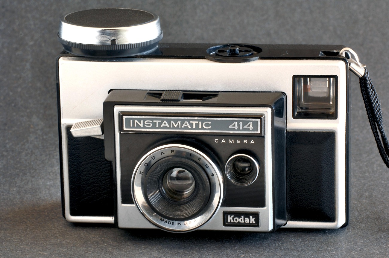 Primary image for Kodak Instamatic 414 Camera uses 126 Cartridge Film Nice Collectible Condition