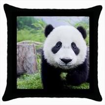 Cute Baby Panda Throw Pillow Case - $16.44